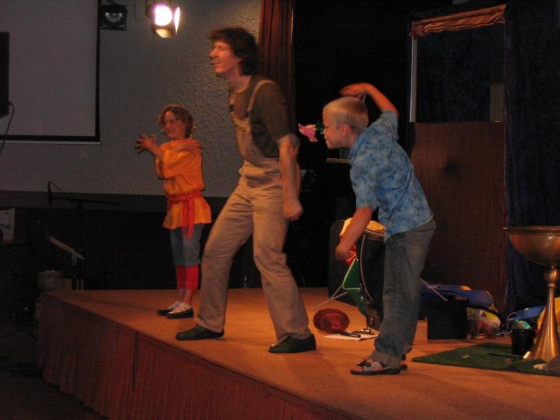 Nothing's too big - we hebben hier kinderen met een talent om iets voor te doen!